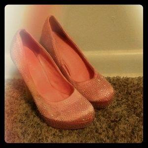 Delicacy high heels
